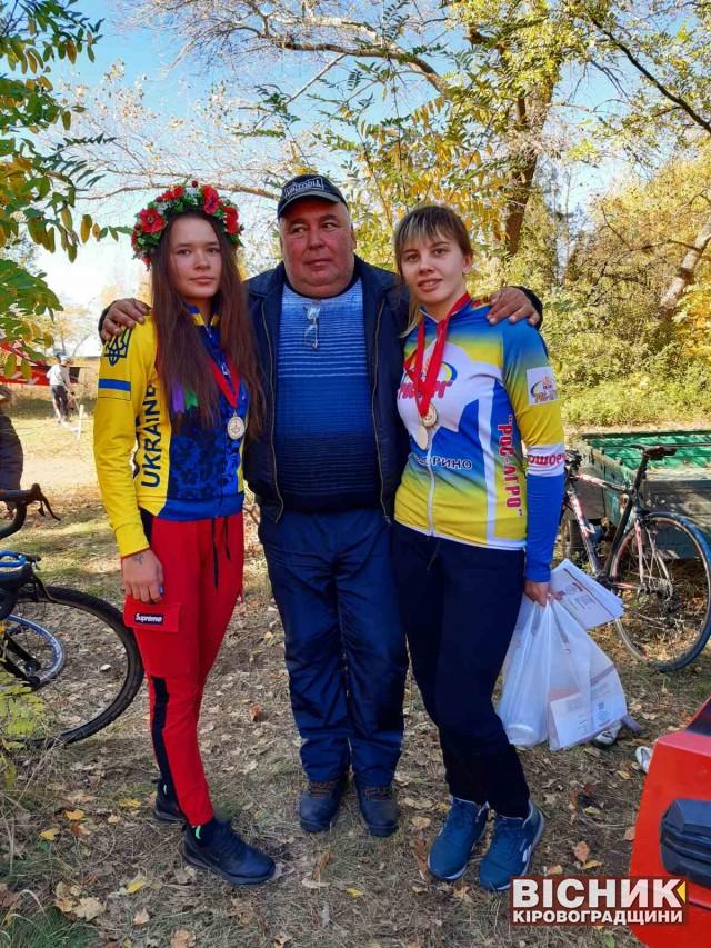 Софія Шевченко й Алла Марущук — бронзові призерки чемпіонату України з велоспорту