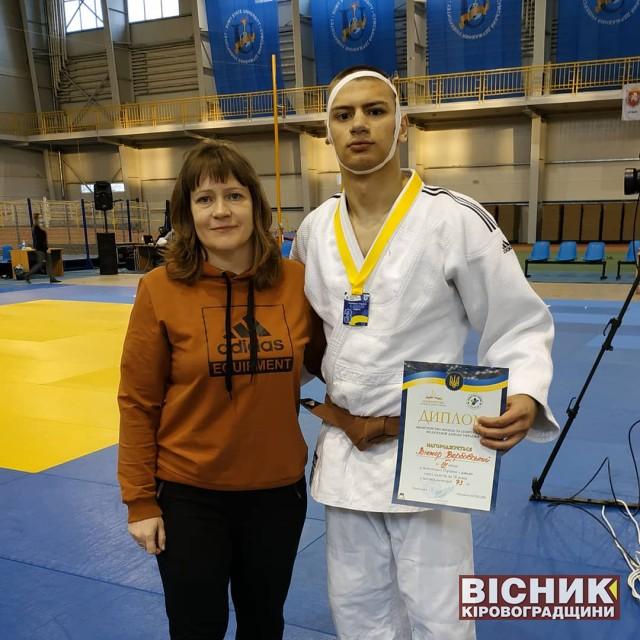 Віктор Вербовський — бронзовий призер чемпіонату України з дзюдо