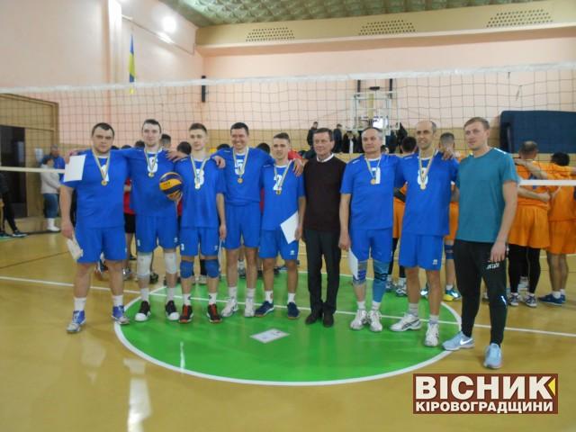 Визначились чемпіони обласних спортивних ігор серед чоловічих волейбольних команд