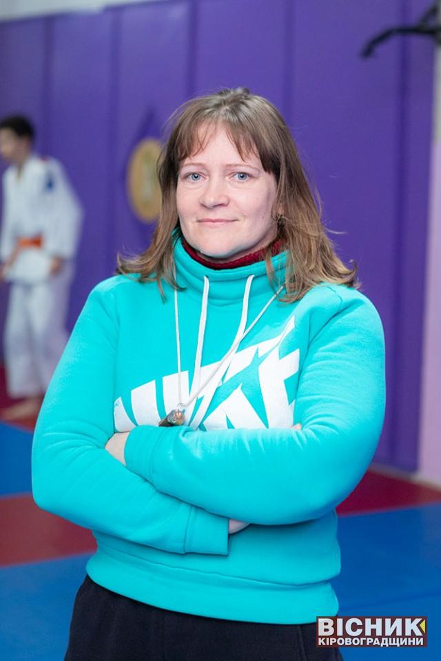 Марина Поріцька: про себе, про дзюдо та про успішних спортсменів