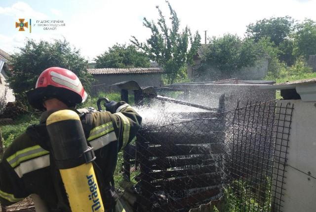 На Кіровоградщині рятувальники загасили 5 займань різного характеру