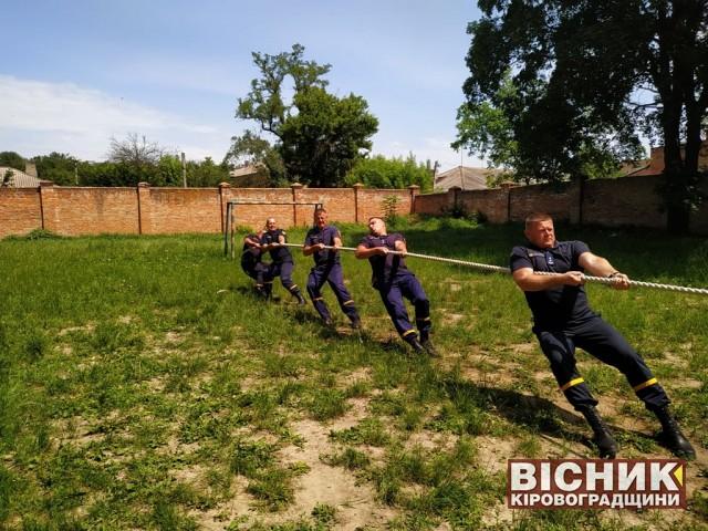 У Знам'янській міській територіальній громаді відбулися «Ігри патріотів»