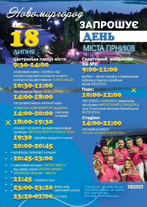 Святкування Дня Новомиргорода
