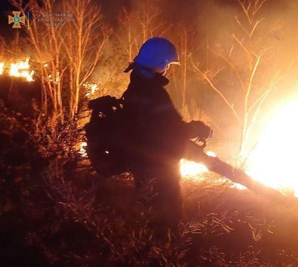 Кіровоградська область: минулої доби рятувальники приборкали 5 займань