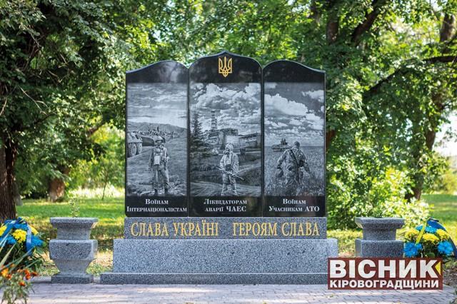 Відкриття пам'ятної стели у Дмитрівці